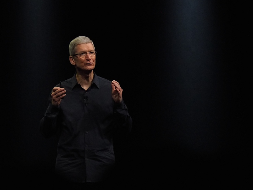 Tim Cook at Apple's 2014 WWDC event in San Francisco, CA. Photo courtesy of Andy Ihnatko.